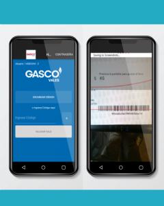 Gasco: App Vales